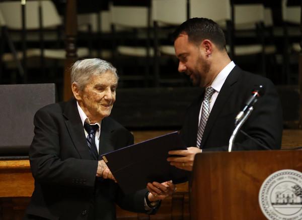 Robert Waitt Honored by City of Peabody