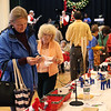 HADLEY GREEN/Staff photo<br /> People shop at the Swedish Yule Fair at the Hamilton-Wenham Community House.<br /> <br /> 11/25/17