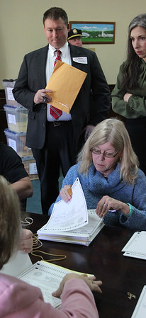 Counting and separating the ballots
