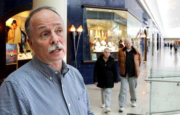 Mall manager Mark Whiting
