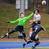 Peabody at St. John's Prep playoff soccer game