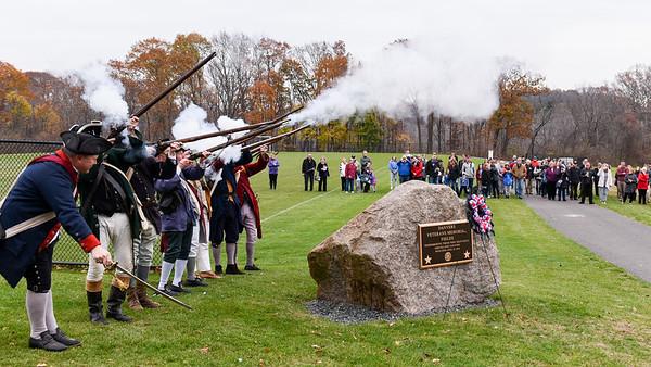 Danvers Veterans Day Ceremony at Thorpe School