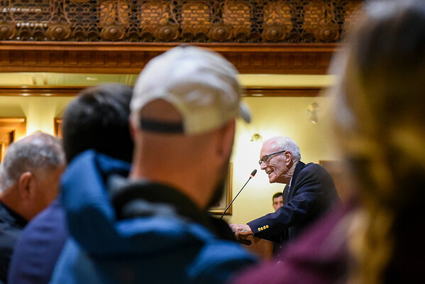 Seth Moulton host annual Veterans Town Hall