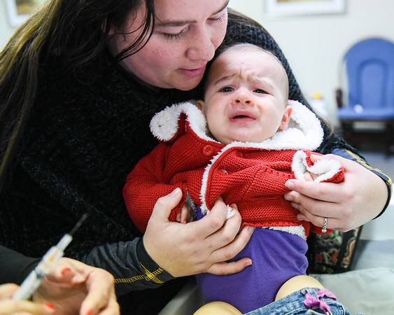 Flu shots at Garden City Pediatrics