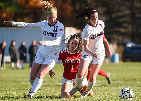 Masconomet vs Belmont girls soccer