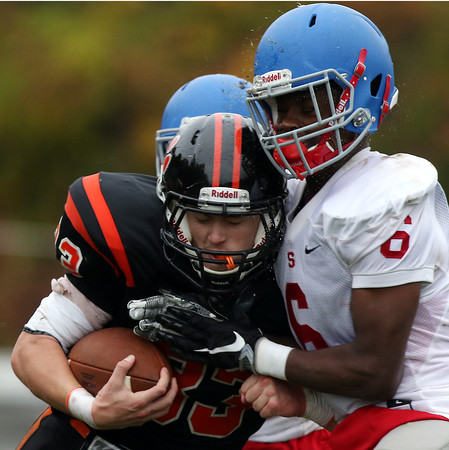 Beverly vs Somerville Playoff Football