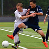 Ipswich Jesse Cullen-Popp and Ham-Wen Jay Kum battle for the ball late in the game.<br /> <br /> Photo by JoeBrownPhotos.com