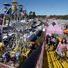 CARL RUSSO/Staff photo. After a rainy Sunday, thousands of people came out to enjoyed themselves on the last day of the 198th. Topsfield Fair. America's oldest fair. 10/10/2016
