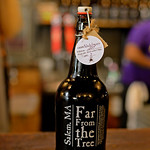 RYAN HUTTON/ Staff photo Black Lagoon, Far From The Tree's newest hard cider is a 7 percent ABV cider which is a black cherry, black currant, black mulberry, black cuddlefish ink and cardamo ...