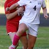 Hamilton-Wenham girls soccer game vs. Amesbury