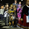 DAVID LE/Staff photo. Youngsters from all around Salem dressed up to march in the annual Haunted Happenings Parade on Thursday evening. 10/6/16.