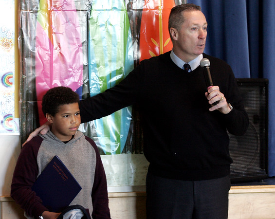 Carlton School student being honored for trying to save a man from drowning