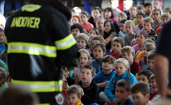 Bancroft Elementary School Community Helpers Assembly