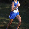 HADLEY GREEN/Staff photo<br /> Danvers' Cynthia Boyd came in eleventh for girls varsity at the Northeastern Conference Cross Country championships at Bradley Palmer State Park.<br /> <br /> 10/28/17