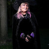 "HADLEY GREEN/Staff photo<br /> For Diane Ogiba of Tewksbury, Halloween is ""the end of the harvest season, the beginning of a new year, and just people getting together."" She dresses up with the street performer group ""Witch & Famous.""<br /> <br /> 10/31/17"