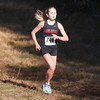 HADLEY GREEN/Staff photo<br /> Marblehead's Kristy Twaalfhoven came in fourth for girls varsity at the Northeastern Conference Cross Country championships at Bradley Palmer State Park.<br /> <br /> 10/28/17