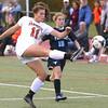 Peabody at Beverly girls varsity soccer
