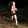 HADLEY GREEN/Staff photo<br /> Beverly's Ashley Foley came in first for the girls varsity race at the Northeastern Conference Cross Country championships at Bradley Palmer State Park.<br /> <br /> 10/28/17