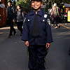 HADLEY GREEN/Staff photo<br /> Jasmine Perez, 6, of Salem, dressed up as a policewoman for Halloween. <br /> <br /> 10/31/17