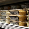 HADLEY GREEN/ Staff photo<br /> Freshly prepared dips sit in the refrigerated section at Shubie's in Marblehead.<br /> <br /> 10/16/2018