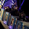 HADLEY GREEN/ Staff photo<br /> People ride the Pharaoh's Fury at the Haunted Happenings carnival on Halloween night in Salem.<br /> <br /> 10/30/2018