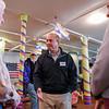 Democratic candidate Jay Gonzalez visit