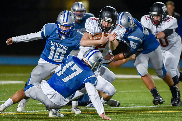 Marblehead at Danvers football