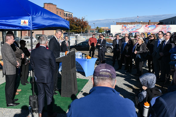Groundbreaking for hotel project in downtown Salem
