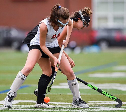 Bishop Fenwick at Marblehead varsity field hockey game