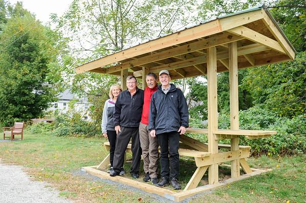 Recent improvements by volunteers to the Danvers Rail Trail in Danvers