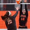 Beverly High varsity volleyball match vs. Wakefield