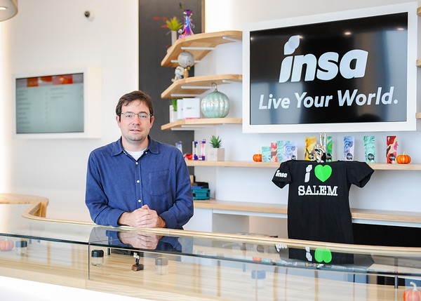 INSA CEO Mark Zatyrka's INSA branch in Salem