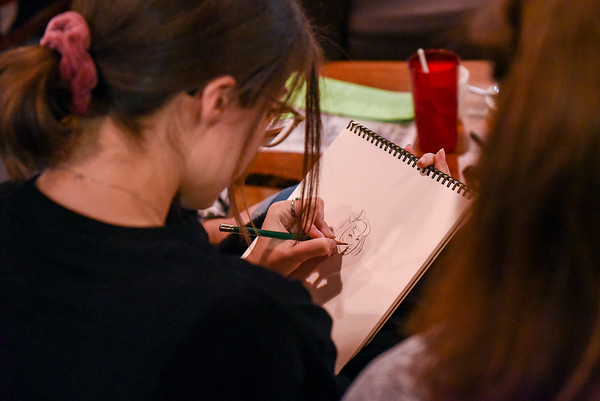 Gulu Gulu Cafe's Drink N Draw in Salem