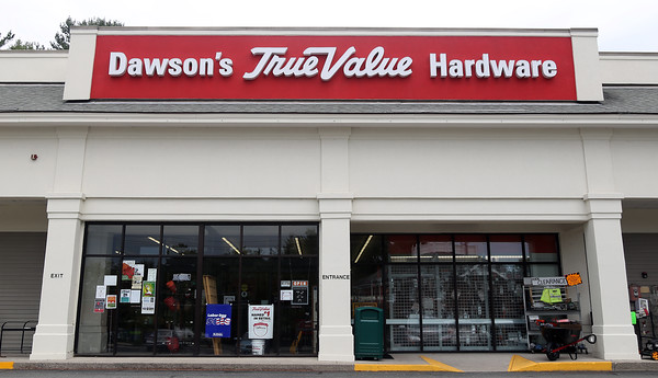 DAVID LE/Staff photo. A long-time family run business, Dawson's TrueValue Hardware Store on Enon Street in North Beverly, is selling its Beverly store to Aubuchon Hardware. 9/1/16.