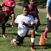KEN YUSZKUS/Staff photo.     Giovanny Guzman at Salem High School soccer practice.    09/13/16