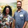 AMY SWEENEY/Staff photo.<br /> Jennifer and Mike McFadden of Beverly at the opening of a new exhibit by the Beverly Historical Society at the John Cabot House in Beverly.<br /> Opening Sept. 8, 2016<br /> John Cabot House<br /> Beverly