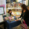 "AMY SWEENEY/Staff photo.<br /> Ashley Royer signs her book ""remember to forget"" at Barnes & Noble in Peabody."