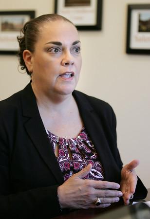 Superintendent Margerita Ruiz discusses MCAS results.