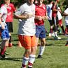 KEN YUSZKUS/Staff photo.     Nick Capra at Salem High School soccer practice.    09/13/16