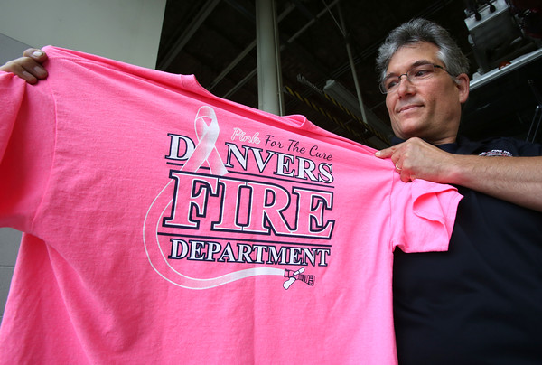Danvers firefighters pitch in to make people aware of breast cancer awareness