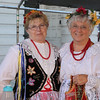 Photo/Reba Saldanha Alice Zujewski and sister Jane Leach in Polish garb at the international festival in Peabody Square Sunday Sept 11, 2016.