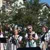 Photo/Reba Saldanha Members of the Italian Serenaders sing at the international festival in Peabody Square Sunday Sept 11, 2016.