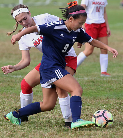 Hamilton-Wenham at Masconomet girls soccer game