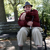 "HADLEY GREEN/Staff photo<br /> Irving Bacherman, 88, was born in Boston, and has lived on the North Shore for most of his life. He comes to the Willows a few times a week. ""I've known the Willows since I was a kid,"" he says. <br /> <br /> 09/01/17"