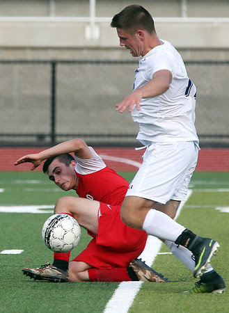 St Johns Prep vs Masconomet  soccer game
