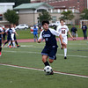 HADLEY GREEN/Staff photo<br /> Peabody's Giovani Lumaj (10) dribbles the ball at the Beverly v. Peabody boys varsity soccer game at Beverly High School.<br /> 09/20/17