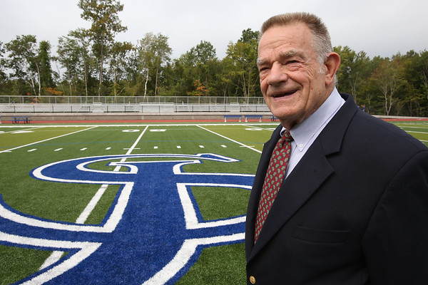 Former SJP football coach and AD Fred Glatz