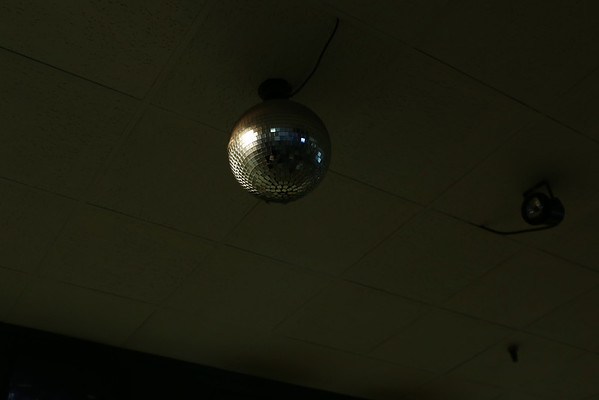 HADLEY GREEN/ Staff photo<br /> Even the disco balls were for sale at Bowl-O-Mat in Beverly.<br /> <br /> 09/26/2018
