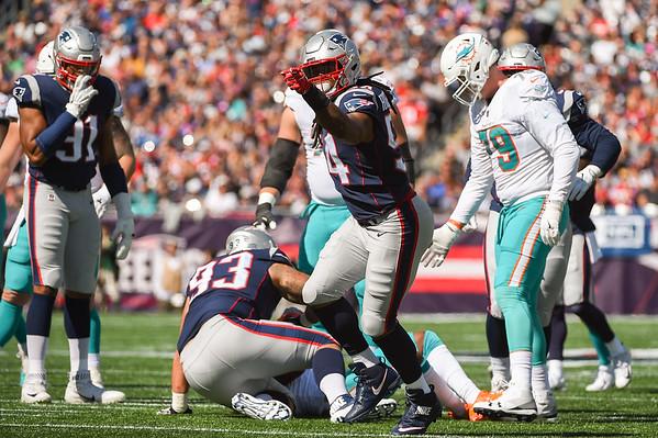 Miami takes on Patriots at Gillette Stadium