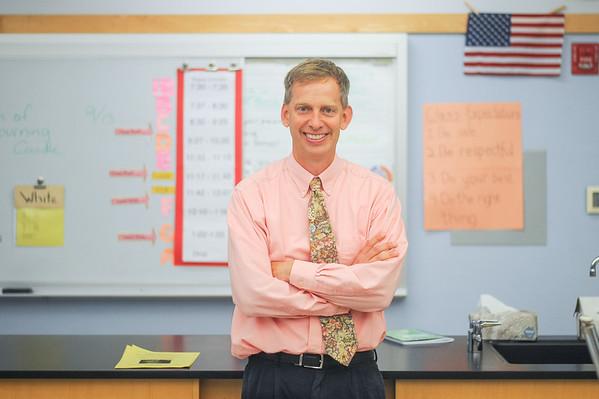 Foreign Exchange Teacher John Hodson